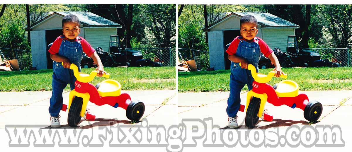 Quality Photo Repair And Restoration That Comes With  A Money Back Guarantee! Visit www.fixingphotos.com For More Info.