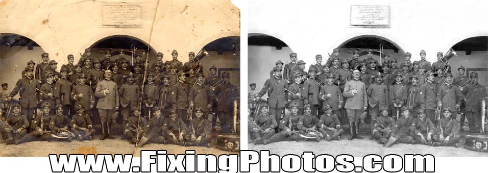Photo Repair Service www.fixingphotos.com/ Since 2003 We Have Been Fixing & Repairing Damaged, Old Photos. MBG!