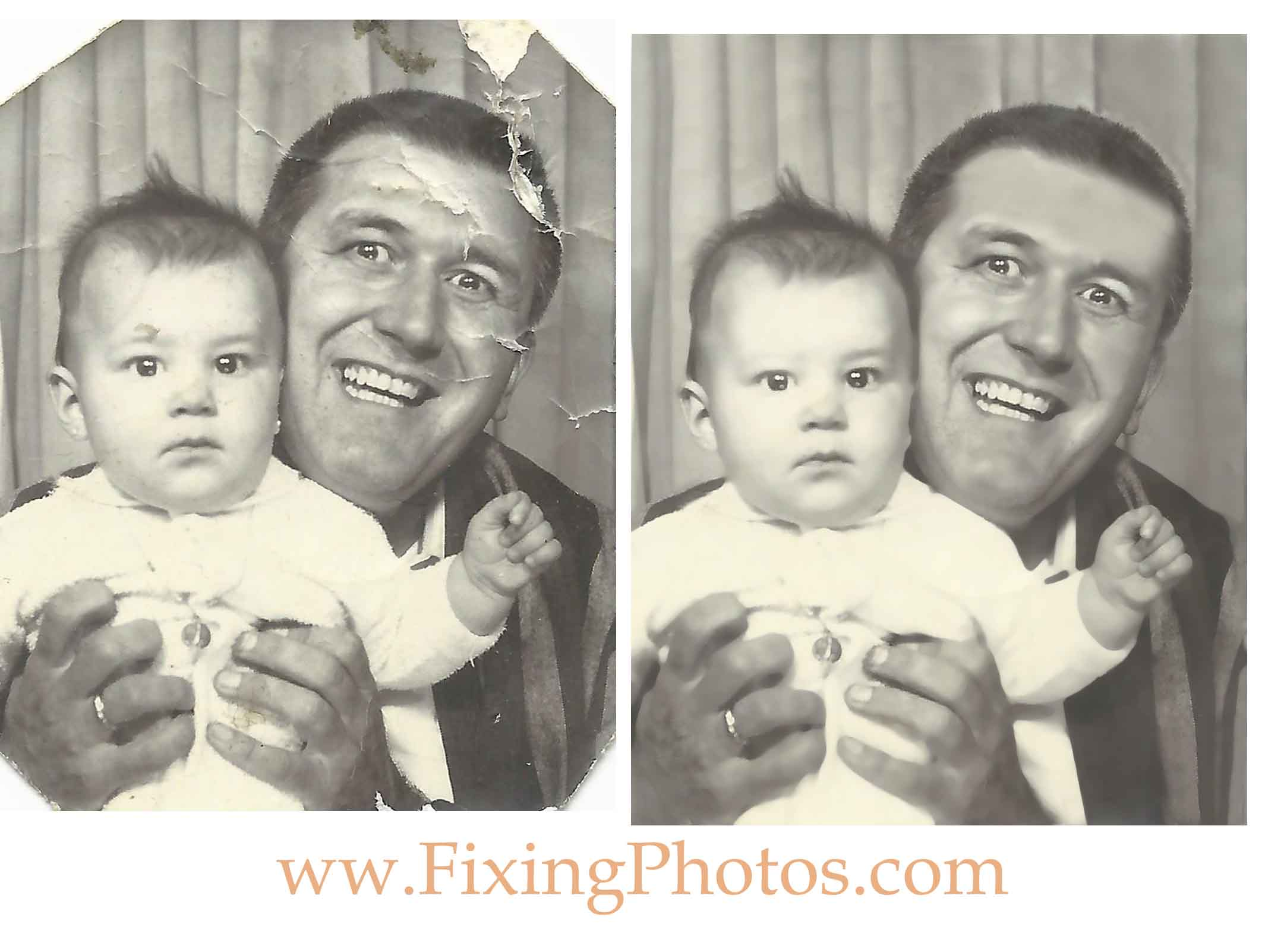 Photo Repair Wizards That Will Restore Your Baby Photos Visit us at https://www.fixingphotos.com For A Free Photo Repair Quote!