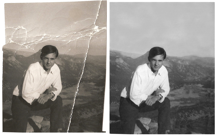 Black And White Photo Repair