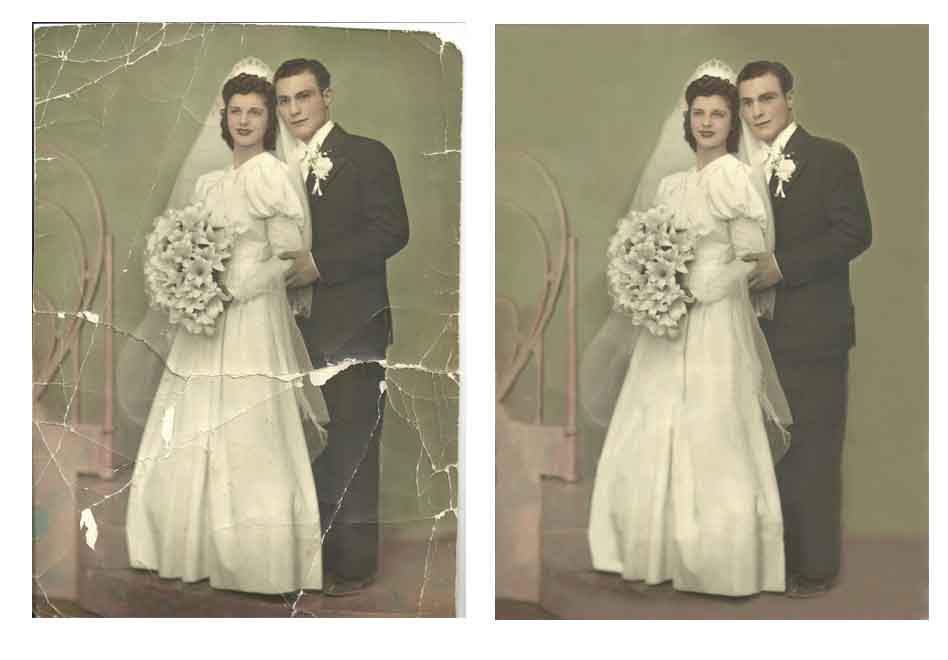 Photo  Restoration Sample Image