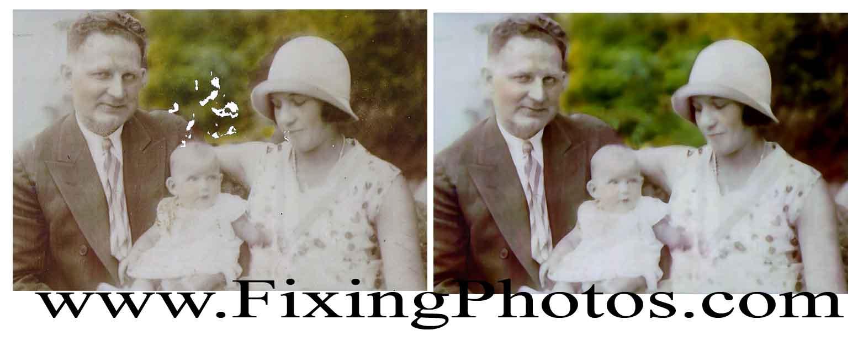 Photo Repair, Photo Repair Service, Photo Restoration